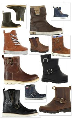 Cool boots for the boys!
