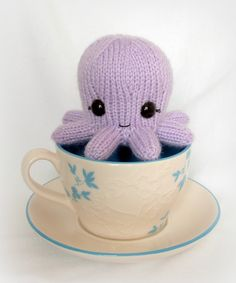 Baby Octopus Knit Toy.