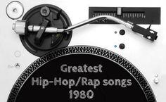 Greatest Hip Hop/Rap songs 1980