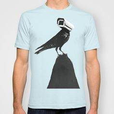 BUY: http://society6.com/product/the-lookout-vmv_t-shirt?curator=4thecrime