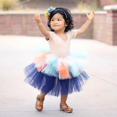 Blues for fall!! Custom Layered Thanksgiving tutu! #rufflesandtutus #tutu #kidsofinstagram #igkiddies #kidsfashion
