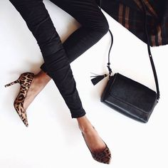 Leopard Pumps, a stylish touch in your daily outfit. Click on the link to reach our homepage and to purchase products -> http://scaros.so/1BbnsNf