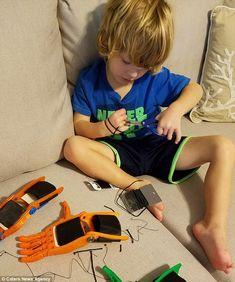 5 year old boy 3D pr