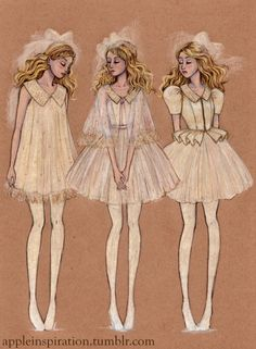 """""""Once upon a time there were three princesses ... """" FROM: http://media-cache-ak0.pinimg.com/originals/bc/70/6c/bc706c86686234da5498b31713297f06.jpg"""