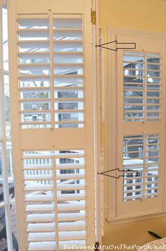 Plantation Shutter Repair Kit Kit Contains Some Of The