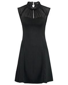 MYLEN Blusenkleid black
