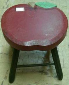 Doll Furniture: Apple Table. Perfect for American Girl and Other Dolls