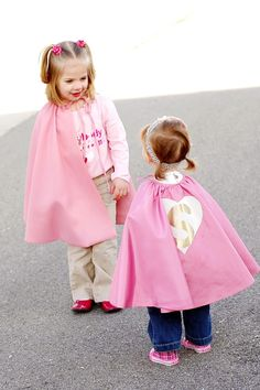Supergirl Capes perfect for Dress Up  Custom Color by sophieandlou, $30.00