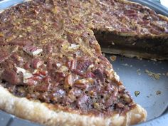 ATK- Old fashioned Pecan Pie.