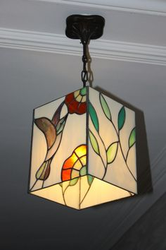 Stained Glass Lamp Shades, Stained Glass Light, Stained Glass Birds, Stained Glass Designs, Stained Glass Projects, Stained Glass Patterns, Stained Glass Windows, Mosaic Glass, Flat Marbles