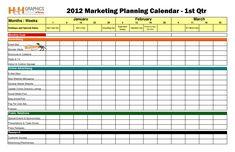Marketing Calendar Template | 17 Best Photos Of Advertising Calendar Template Marketing Sales