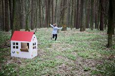 domek z tektury - zabawki z kartonu | trzymyszy.pl