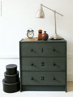 painted ikea drawers