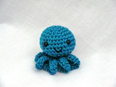 Mini amigurumi octopus PDF crochet pattern by AmigurumiBarmy on Etsy https://www.etsy.com/listing/150322332/mini-amigurumi-octopus-pdf-crochet