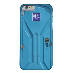 Funny Public Portable Toilet iPhone 6 Case