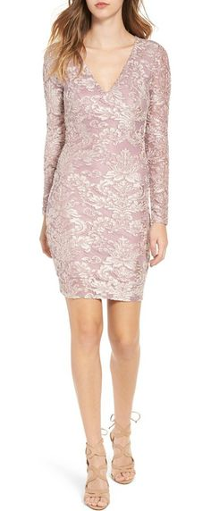 floral velvet dress by Leith. Sumptuous velvet textures the vintage-inspired floral pattern of a figure-hugging dress ideal for festive cool-weathe...