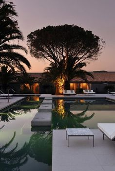 """SAINT-TROPEZ - Beautiful new palaces open almost every year... And every year, it's still pretty hard to find a hotel room during the summer season... """"Hotel Sezz, St Tropez, France #golfesttropez #sttropez #ramatuelle www.visitgolfe.com""""."""