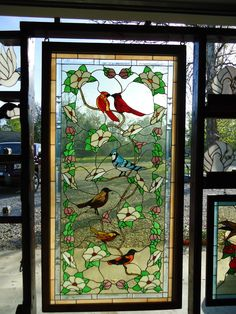 stained glass birds | Stained glass,Birds of America