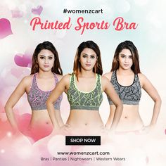 403f4f821cd Discover the stylish and latest collection of printed sports bra at  womenzcart  printedbra  sportsbra