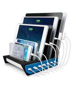 Look what I found on #zulily! Power Hub 7 Multi-Charger Dock #zulilyfinds