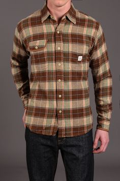 Franklin Flannel Shirt / by Max's Cotton Supply
