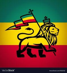 "Tee shirt lion of judah rasta flag black lion of judah flag ethiopia rastafari reggae men s premium t shirtRead More ""Rasta Lion Flag Pics"" Rasta Art, Rasta Lion, Reggae Art, Reggae Music, Rasta Tattoo, Rastafari Art, Judah And The Lion, Petit Tattoo, Africa Flag"