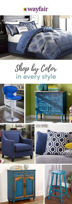 Want a bright and bold accent or a color-pop on the tabletop? From everyday essentials to festive furnishings and more, Wayfair has thousands of home must-haves in shades that suit every style, space, and budget. Visit Wayfair to get exclusive deals at up to 70% OFF, plus FREE shipping on all orders over $49. Blue has never looked better! Sign up and shop now.