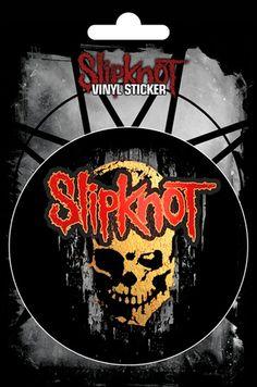 Sticker SLIPKNOT - Gray Chapter Skull - http://rockagogo.com