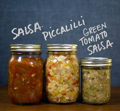 Three things to know about canning salsa by Well Preserved
