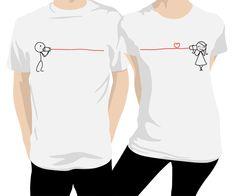 Say I Love You© Couple T-Shirts