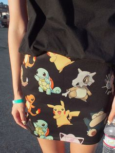 I want a Pokemon skirt so bad!^ its so cute! Pokemon Party, Cute Pokemon, Pokemon Hunt, Looks Style, Style Me, Geek Fashion, Womens Fashion, Kawaii Fashion, Indie