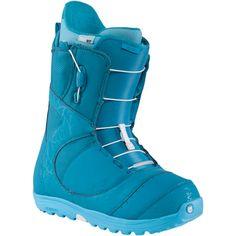 Burton Mint Womens Snowboard Boots: The Teal Deal