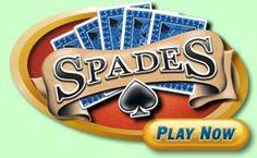 Playing spades @ pogo.com