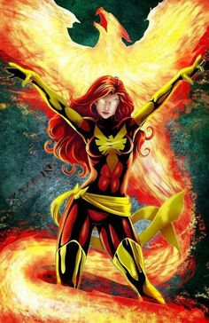 Dark Phoenix - visit to grab an unforgettable cool 3D Super Hero T-Shirt!