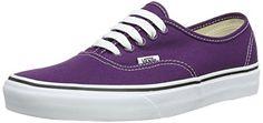 Vans Authentic Sneaker,Plum Purple/True White,US 5 M - http://buyonlinemakeup.com/vans-2/6-5-c-d-us-women-5-d-m-us-men-vans-adult-authentic-core-8