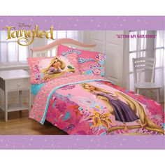 Disney Tangled Microfiber Bedding Comforter