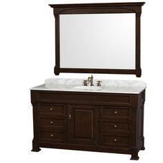 Virtu USA Huntshire 60-inch Single-sink Bathroom Vanity Set | Overstock.com Shopping - The Best Deals on Bathroom Vanities