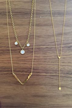 Layer Up with these Gorjana and Marcia Moran necklaces at Eliza Page!