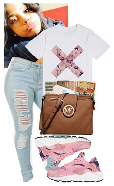 """Untitled #258"" by highofflay11 ❤ liked on Polyvore featuring NIKE"