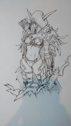 WOW Sylvanas by Kira-Mononoke on DeviantArt
