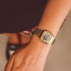✶ Relógio Casio da linha vintage é muito amor! ✶ INSTA SHOP: link na bio @lacosdefilo