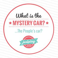 mystery car being revealed tomorrow on #Justplay! Are you ready Justplayers?