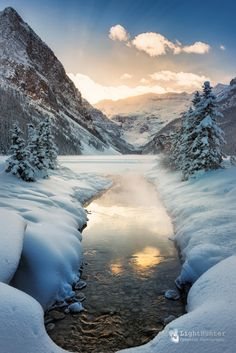 Reasons to Start Planning Your Alberta Winter Vacation Lake Louise ... - Sunset ... )