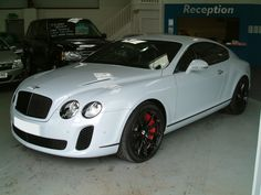 2011 Bentley Continental Supersport at www.woldsideclassics.co.uk
