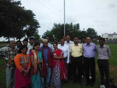 Bhoomi Pujan of Avinash Garden City with Avinash family,  near DPS School, Semaria, Raipur