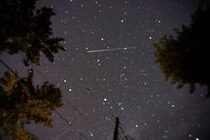 Perseid meteor shower 2015  Los Gatos, California