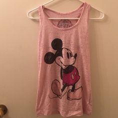 Mickey mouse tank top from disneyland Bought at disneyland, rarely worn Disneyland Tops Tank Tops