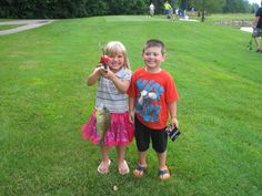 Family Fishing Event at the Greenbrier Golf & Country Club Lake!