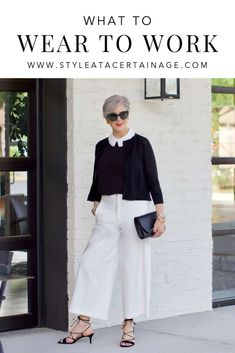 Are you wondering what to wear to work? Yes, women of a certain age are still suiting up for the office. Just like Jackie o who embraced her third act… - Best Fashions for All Fashion Over 50, Work Fashion, Fashion Outfits, Fashion Trends, Office Fashion, Curvy Fashion, Fashion Styles, Women's Fashion, Street Fashion