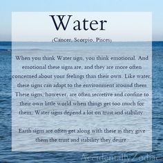Water Signs of the Zodiac ;;  { Cancer ღ }